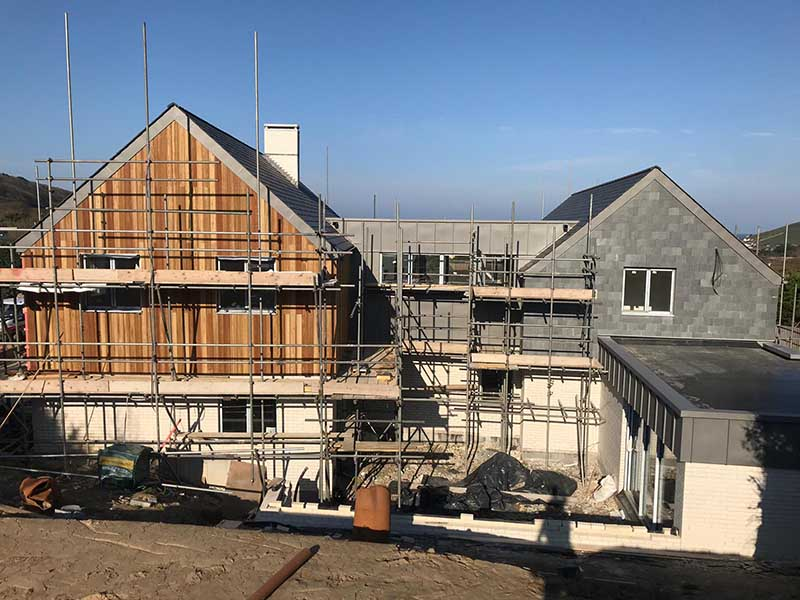 new builds with scaffolding