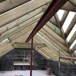 roof of new build